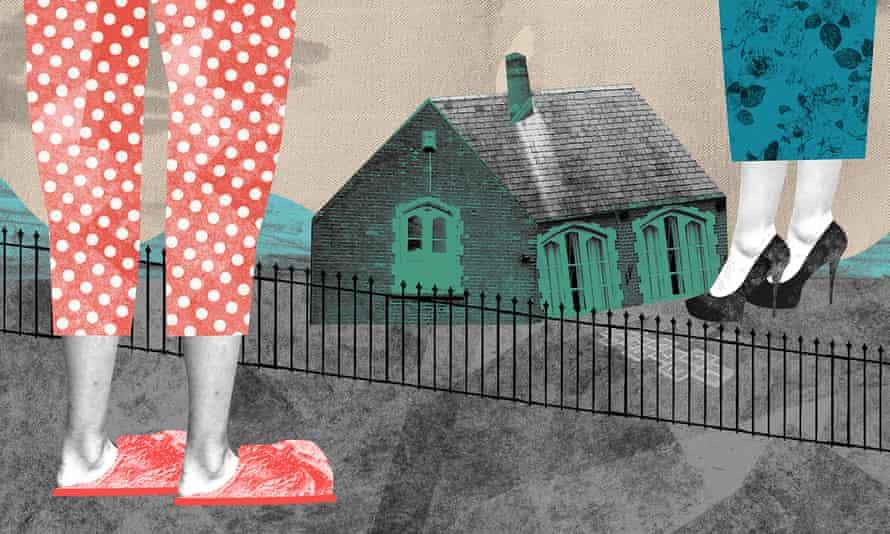 Pupils' parents in pyjamas llustration by Nate Kitch