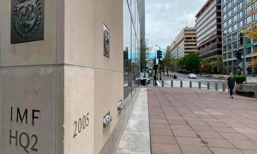 The IMF building in Washington