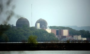 The Indian Point Energy Center in Buchanan, New York, where an explosion and fire led to thousands of gallons of transformer fluid being released into the Hudson river.