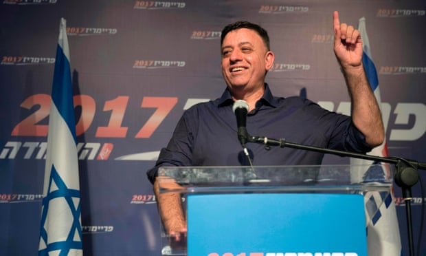 Israel's Macron: Gabbay Hailed by World's Left as Israel's New Hope