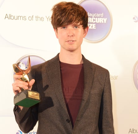 James Blake won the 2013 Mercury prize for his album Overgrown