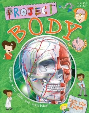 """Project Body by John Farndon The judges said: """"This book about the human body and how it functions is packed with absolutely amazing pictures, illustrations and real life pictures. It has so many facts and activities- this is a great educational book with a great balance between reading and interactive parts."""""""