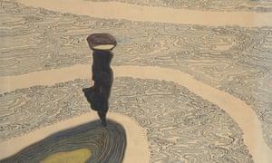Woman at the Shoreline, 1910 by Léon Spilliaert,