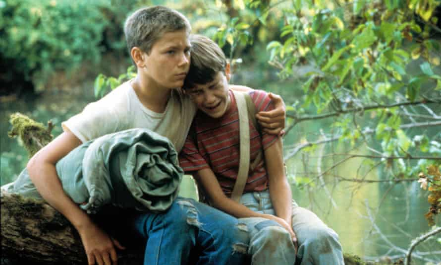 Comforting Wil Wheaton in his breakout performance in Stand By Me, 1986.