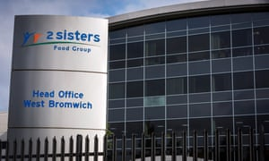 The headquarters of 2 Sisters food group, in West Bromwich
