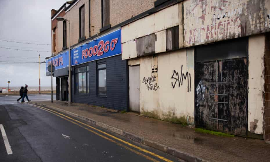 The Bloomfield ward area of Blackpool