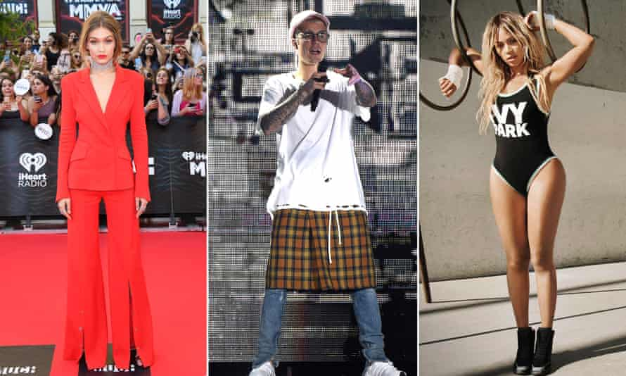 Stars such as Gigi Hadid, Justin Bieber and Beyonce now have to have a look – wherever, whenever
