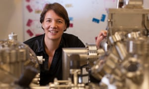 Prof Michelle Simmons, from the University of New South Wales, is among those racing to build the world's first practical quantum computer.