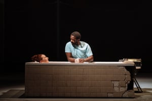 Adrian Lester and Katy Sullivan in Cost of Living.