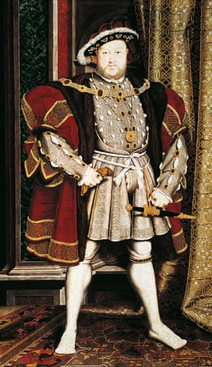 Henry VIII, as painted by Hans Holbein the Younger