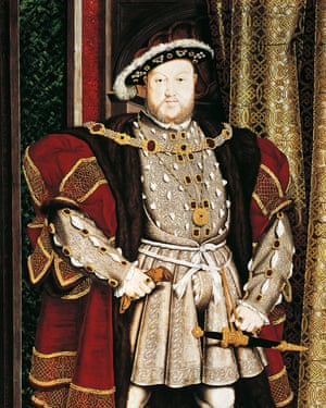 Portrait of Henry VIII by Hans Holbein the Younger (1497-1543).