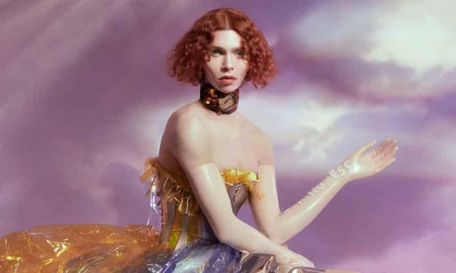 Sophie, pictured on the cover of the album Oil of Every Pearl's Un-Insides.