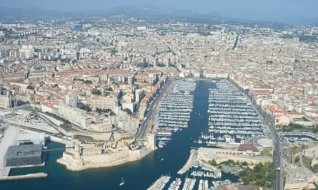 The Old Port area of Marseille