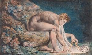 William Blake's Newton, 1795-1805.