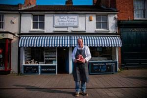 Hartley Wintney, UK: Dave Stanton,  butcher
