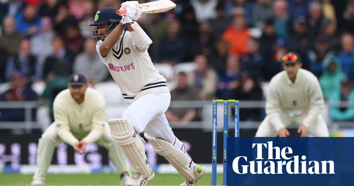 Cheteshwar Pujara leads India fightback to frustrate England on third day