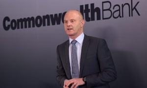 Commonwealth Bank CEO Ian Narev