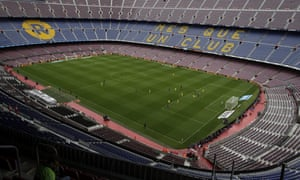 Barcelona's Spanish league game against Las Palmas is played without fans amid the controversial referendum on Catalonia's independence.