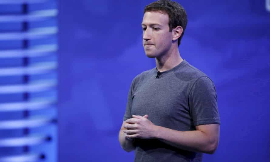 Facebook CEO Mark Zuckerberg speaks on stage in San Francisco in 2016.