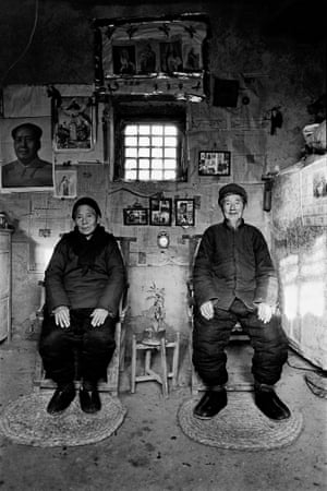 Old couple at evening prayers. Shandong, 1993 from 'On the Road'