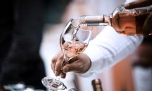 Bottle and wine glass rose; Shutterstock ID 760358647; PO: P10023018602; name: Luke Humphreys; email: luke.humphreys@tesco.com; searchbams?: Y
