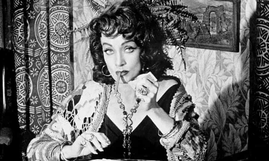 Marlene Dietrich in Touch of Evil (1958).