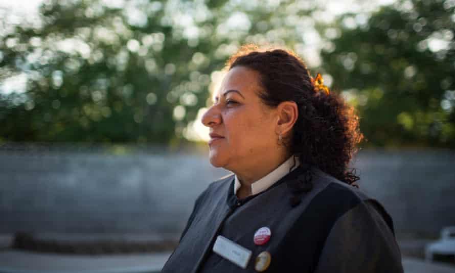 Celia Vargas is fighting to unionize at the Trump Hotel International Las Vegas.