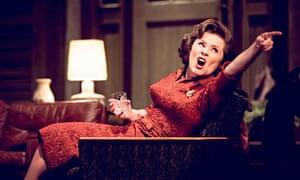 Imelda Staunton in Who's Afraid of Virginia Woolf?