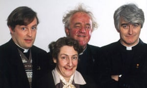 Father Ted – would it work without the laughter piped in?