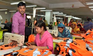 Bangladeshi garment workers have not had a pay rise since 2010.