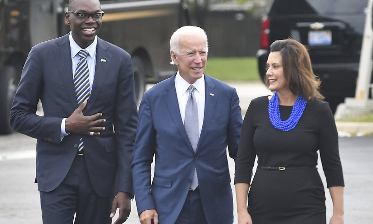 Gretchen Whitmer Backs Joe Biden On Alleged Assault Not Every Claim Is Equal Us News The Guardian
