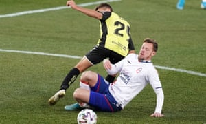 Charlie I'Anson in action for Rayo Majadahonda. As a result of the Covid-19 crisis his contract in Spain's Segunda B has been terminated.