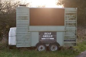 Rising Five: Roadside snack bar 1. A590, Dalton in Furness, Cumbria