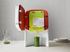Fad gadget … WiFi-enabled cold-press Juicero