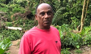 Cyril Bertrand, now 72, was permanently separated from his family. He was in the Seychelles for medical treatment when the rest of his family were deported to Mauritius.
