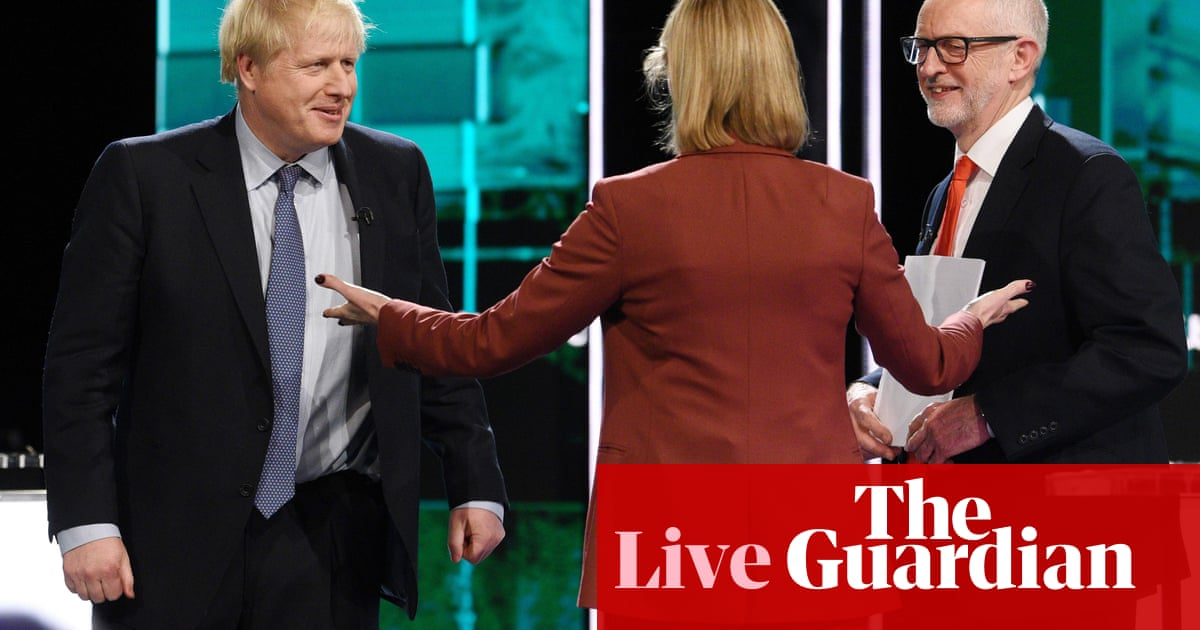General election: Poverty and crime pledges to the fore after TV debate – live news
