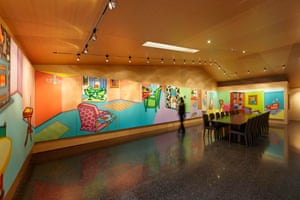 Howard Arkley's Fabricated Rooms (1997-99)
