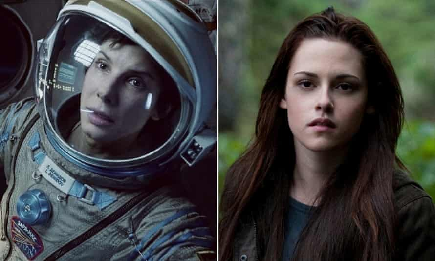 Gravity (fail) and Twilight Saga (pass) … why the Bechdel test needs revised.
