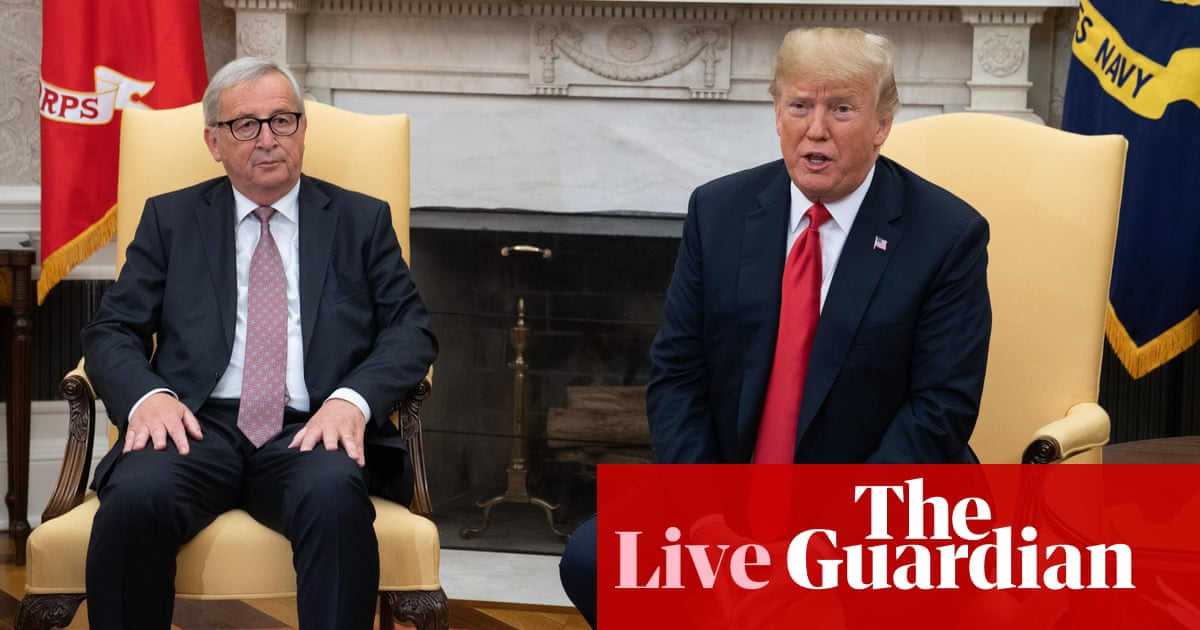 Us And Eu Reach Deal To Calm Trade War Fears As It Happened