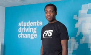 Amatey Doku, vice president at the National Union of Students