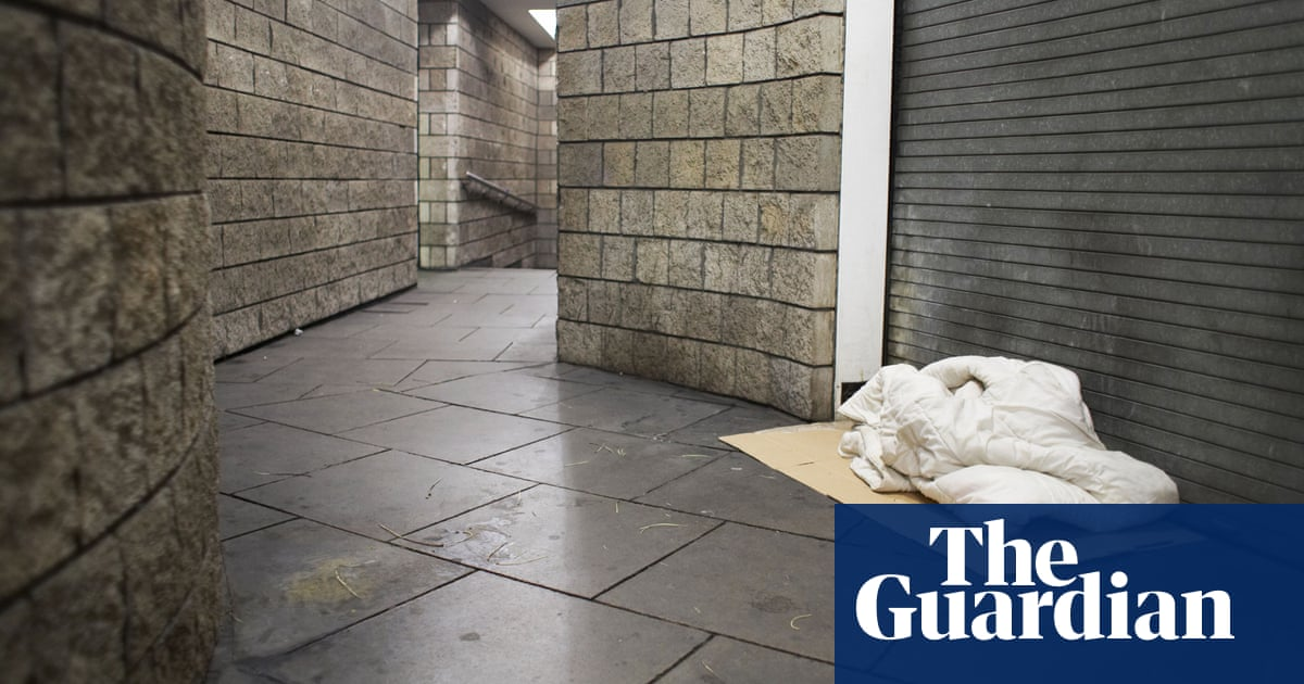 Youth homelessness has risen 40% in five years, says UK charity