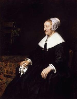 Rembrandt's Portrait of Catrina Hooghsaet