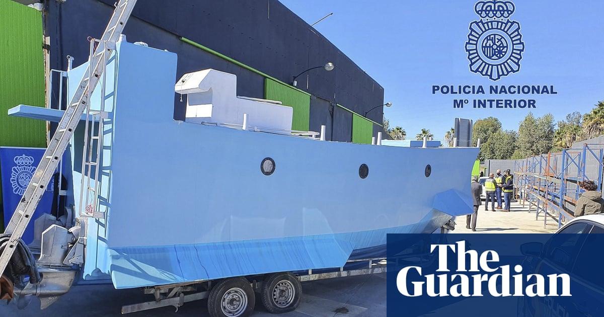 Spanish police seize narco-submarine in Málaga raid