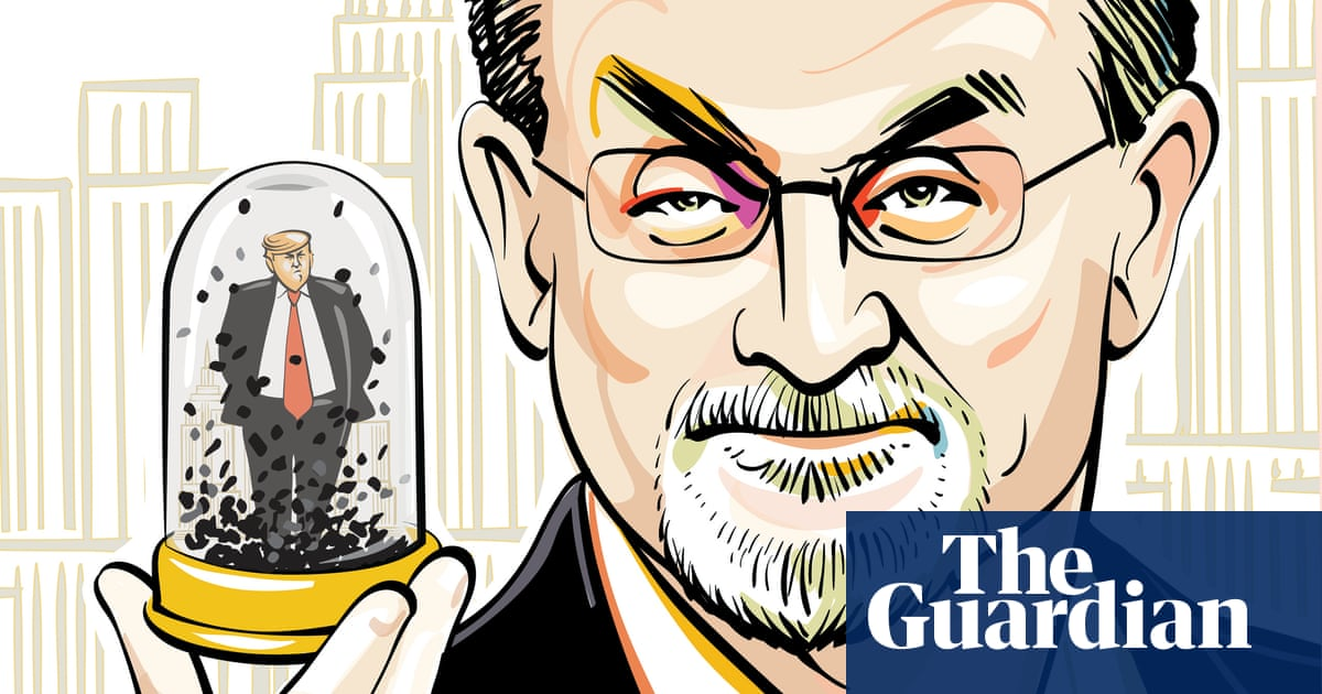 Salman Rushdie: 'A lot of what Trump unleashed was there