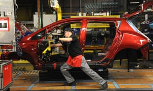 The Leaf electric car is produced at Nissan's Sunderland factory.