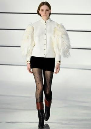 Chanel's seven-league boots, AW20, Paris fashion week.
