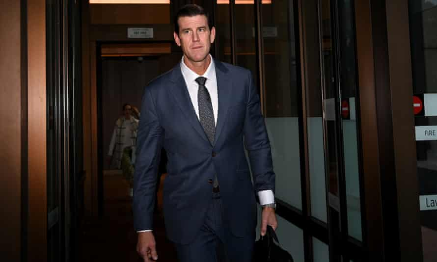 Ben Roberts-Smith leaves the federal court in Sydney
