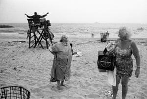 Bruce Gilden. Fellini. Coney Island, New York City, USA. 1969