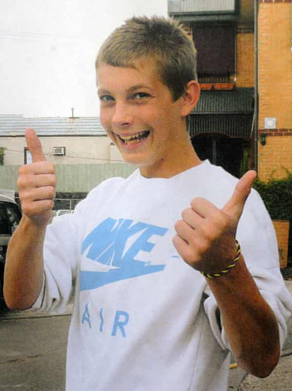 An undated family photo released Friday, Dec. 12, 2008 of 15-year-old boy Tyler Cassidy who was shot dead on on Thursday, Dec. 12, 2008.