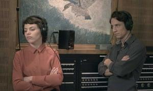 Anja Plaschg as Ingeborg Bachmann and Laurence Rupp as Paul Celan